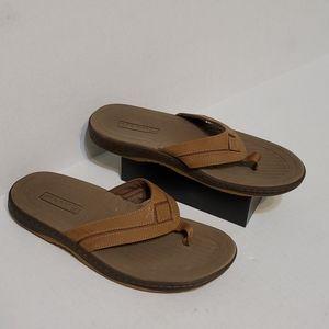 Sperry flip flop sandals men's size 7